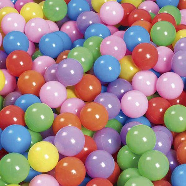 bolas de plástico